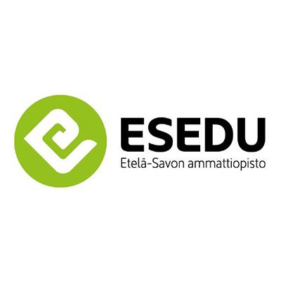 Etelä-Savon ammattiopiston logo.